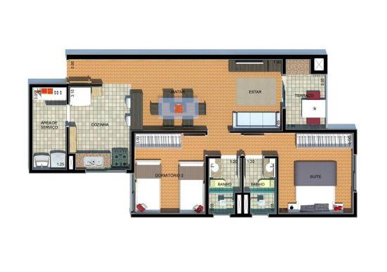 Apartamento à venda Paraíso - 2.jpg