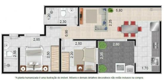 Apartamento venda Vila Tibiriça Santo André