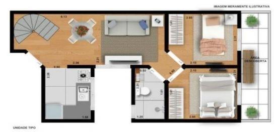 Apartamento venda Santa Maria - Referência AP2264