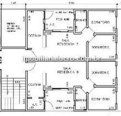 Apartamento Vila Pires 2 dormitorios 1 banheiros 1 vagas na garagem