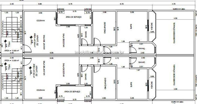 Apartamento venda Vila Valparaíso - Referência AP2375