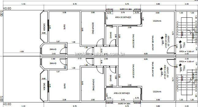 Apartamento venda Vila Valparaíso - Referência AP2376