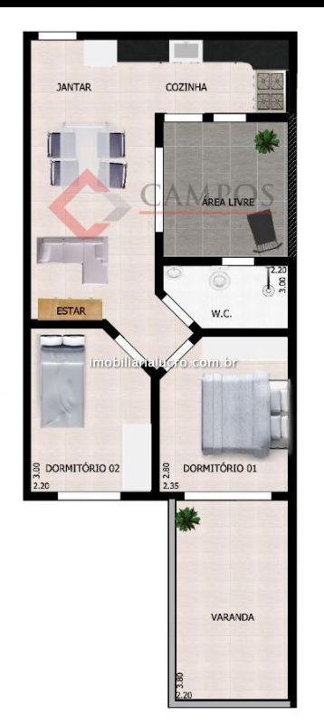Cobertura Duplex venda Vila América - Referência CO1863