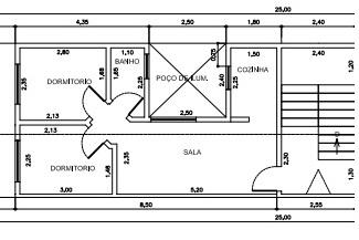 Apartamento Vila Linda 2 dormitorios 1 banheiros 1 vagas na garagem